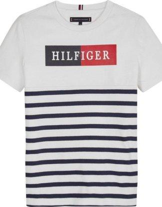 "TOMMY HILFIGER T-Shirt ""MIXED ARTWORK STRI"""