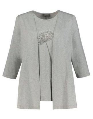 Ulla Popken T-Shirt 2-in-1-Shirt