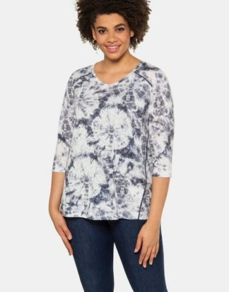 Ulla Popken T-Shirt Batik-Shirt