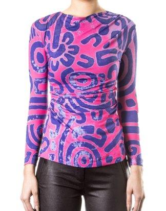 Vivienne Westwood Anglomania Damen Langarm Shirt mehrfarbig