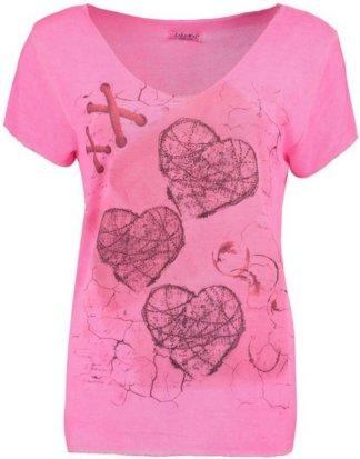 "ZABAIONE T-Shirt ""LENA"" in Feinstrickoptik"
