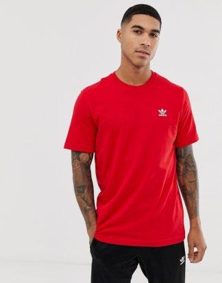 adidas Originals - Essentials - T-Shirt in Burgunder-Rot
