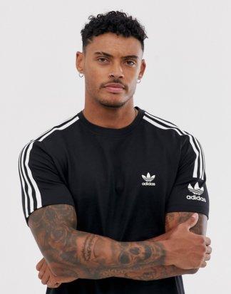 adidas Originals - Lock Up - Schwarzes T-Shirt