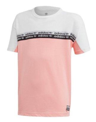 "adidas Originals T-Shirt ""Colorblock T-Shirt"" AOP PACK;Ryv"