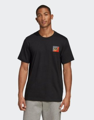 "adidas Originals T-Shirt ""Diagonal Embroidered T-Shirt"""