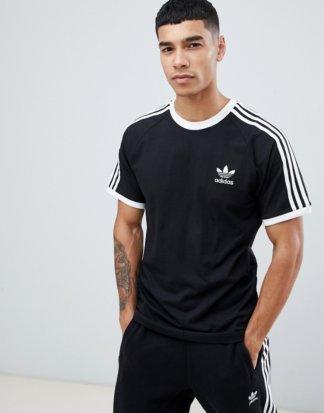 adidas Originals - adicolor California - Schwarzes T-Shirt, CW1202