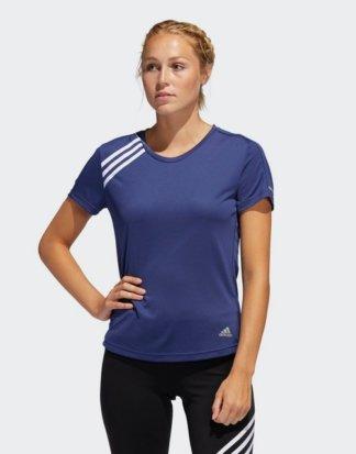"adidas Performance T-Shirt ""3-Streifen Run T-Shirt"" Response;Clima;READY"