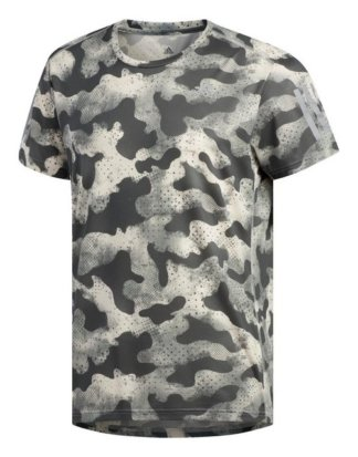 "adidas Performance T-Shirt ""Own the Run Urban Camo T-Shirt"" Response;Clima;READY"
