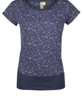 "alife and kickin T-Shirt ""COCO"" verspieltes kurzarm Shirt im maritimen Allover-Design"