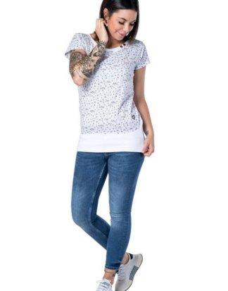 alife and kickin T-Shirt Sportliches Shirt mit breitem Bündchen