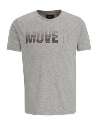 """camel active T-Shirt """"camel active"""" Kurzarm Rundhals Print"""