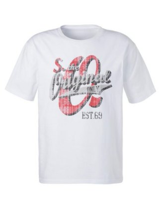 s.Oliver Bodywear T-Shirt mit Logo Print vorn