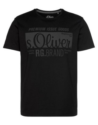 s.Oliver T-Shirt mit s.Oliver Print