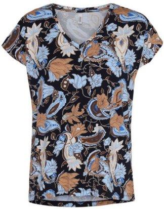 """soyaconcept V-Shirt """"Marcia43"""" hinten etwas länger geschnitten"""
