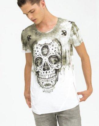 "trueprodigy T-Shirt ""Festival Of The Dead II"" mit coolem Totenkopf-Druck"